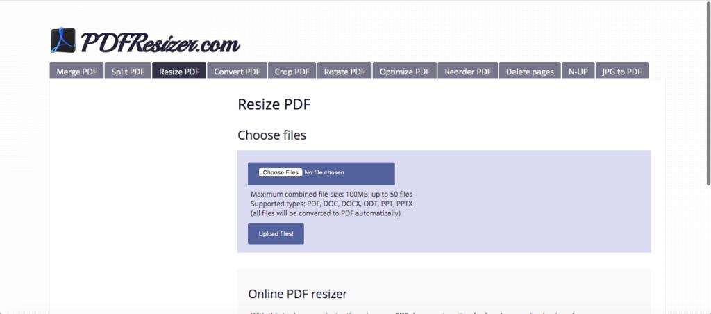 online split pdf