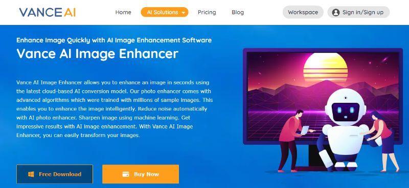 Image Enhancer Info