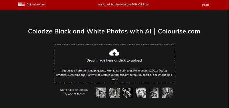 Colourise Home Page