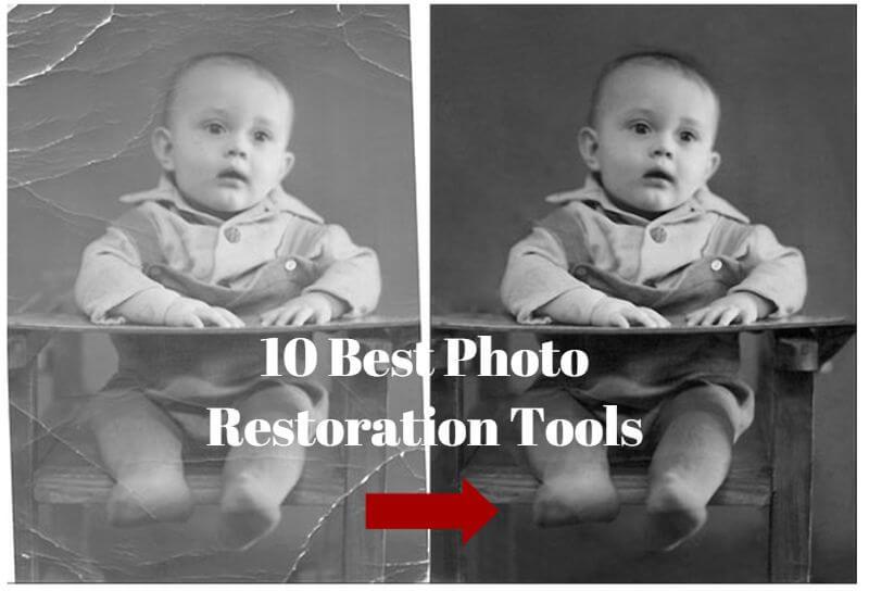 Best 10 Photo Restoration Software & Online Tools Review
