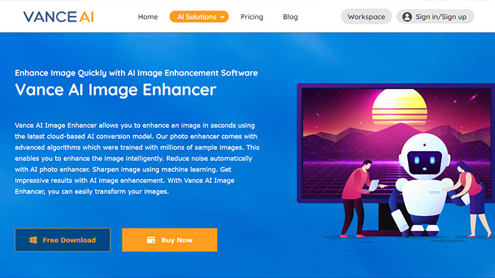 Vance Ai Image Enhancer