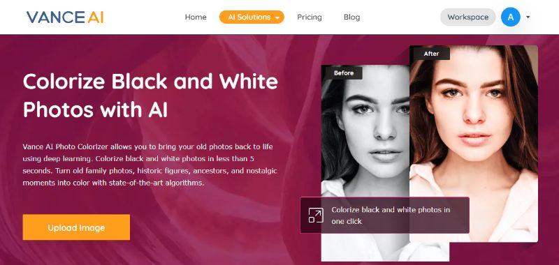 Vance AI Home Page