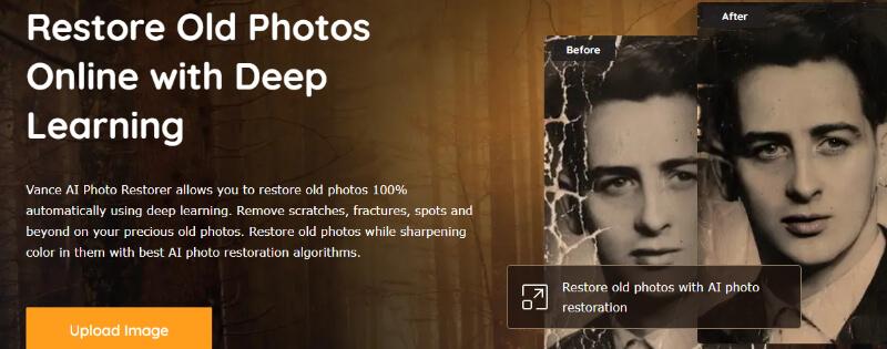 photo restoration services Vance AI