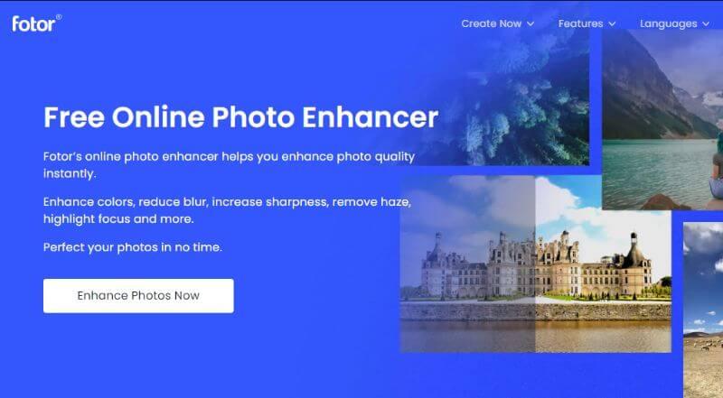 Fotor Photo enhancer