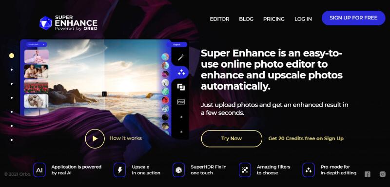 Super Enhance Photo enhancer
