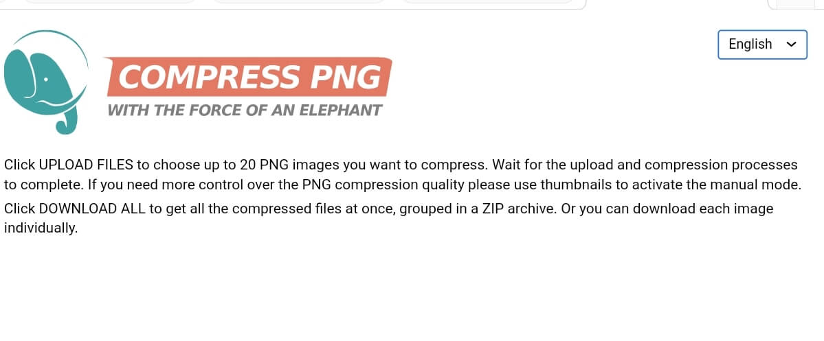 Compress PNG with Compress PNG